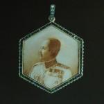 Médaillon avec portrait de Rama V
