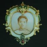 Broche avec portrait du prince Samuthivong Varothai