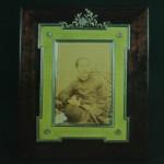 Cadre avec portrait de Rama V