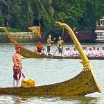 Barge Ekachai Hoen Hao avec signalisateur