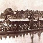 Barge royale Anantanakharat en 1865