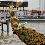 Barge Asura Paksi avec Yak et Oiseau