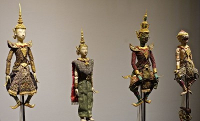 Marionnettes du théâtre Khon/1, style Rattanakosin, XXe