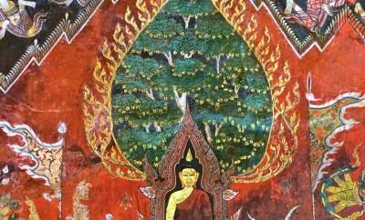 Toutefois, Siddharta reste imperturbable et poursuit sa méditation en s'abritant derrière ses mérites.