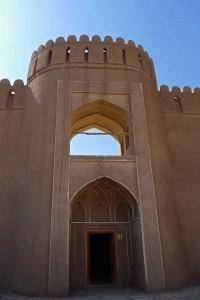 Porte d'entrée de la citadelle