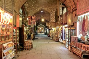 Esfahan, galerie du Grand Bazar