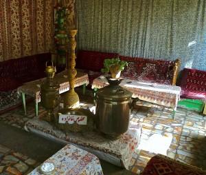 Esfahan, maison de thé