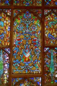 Vitrail de la porte de l'Imam, XVe siècle
