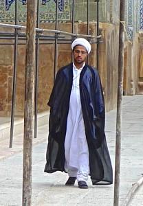 Jeune imâm rattaché à la mosquée