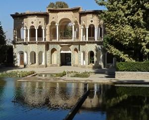 Mahan/province de Kerman, Bagh-e Shahzade, pavillon d'entrée