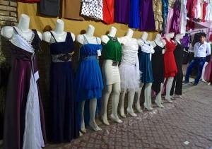 Kerman, Bazar-e Sartasari, mode féminine