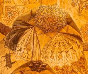 Peintures du plafond, détails