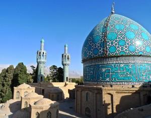 Coupole et deux minarets/1