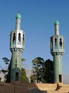 Les deux minarets de la mosquée