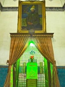 Portrait de Shah Nematollah-e Vali
