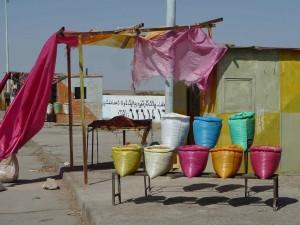Rafsanjan/Kerman, pistaches en vente
