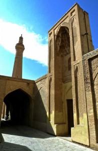 Mosquée du vendredi, entrée intérieure
