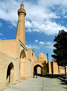 Mosquée du vendredi,  entrée extérieure