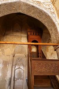 Mosquée du vendredi, minbar