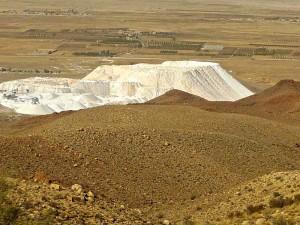 Vallée du Kor, production de poudre de pierre