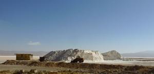 Sarvestan, vallée du Kor, salines