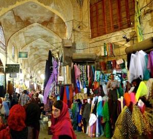 Shiraz, Bazar-e Vakil, galerie