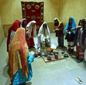 Vie du hammam jadis, préparation d'un mariage