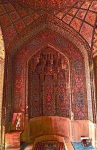 Salle de prière, mihrab