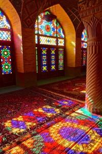 Salle de prière, reflets/1