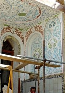 Travaux de restauration du Palais
