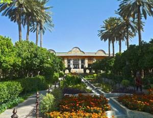 Shiraz, jardin du Palais de Naranjestan