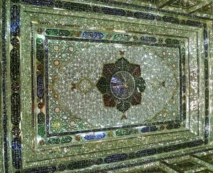 Porche à miroirs, plafond/2