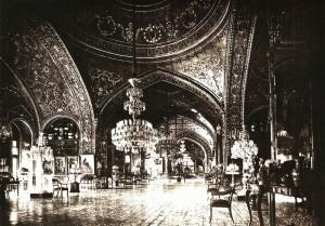 La Salle des miroirs, photo ancienne