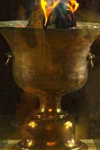 Atash Behram, Feu Sacré des Zoroastriens remontant à 470 apJC