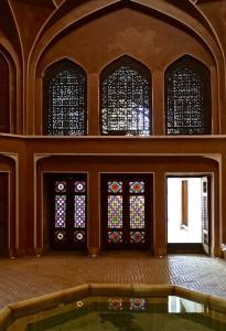 Bâtiment octogonal, intérieur