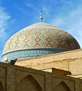 Une coupole de la mosquée