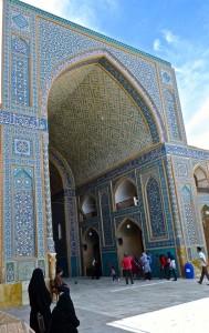 Portail d'entrée de la mosquée