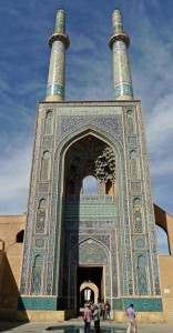 Les deux minarets vus de près