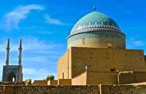 Les minarets et la tombe de Sayyed Rokn Al-din Mohammad Qazi, le bogheh