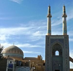 Les minarets et la coupole vus de l'extérieur