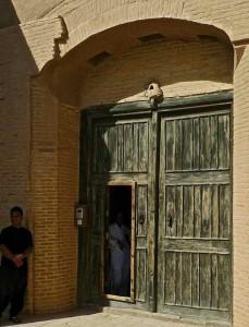 Porte d'entrée du caravansérail