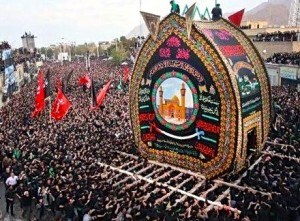 Yazd, fête de l'Ashura (© fars.a.)