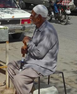 Yazd, retraité