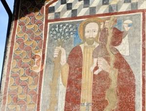 St. Christophe, détail