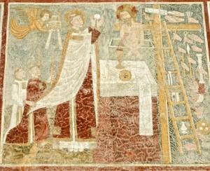 St Grégoire Ier célébrant la messe