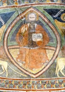 Le Christ en majesté dans sa mandorle