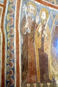 Les Apôtres Pierre, Paul et André (ce dernier non visible sur l'image)