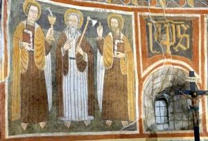 Les Apôtres Jean, Thomas et Jacques