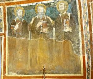 Les Apôtres Simon, Thaddée et Mathias