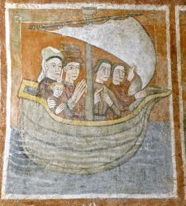Le prince accompagné de la princesse et du petit prince ressuscités retourne à Marseille